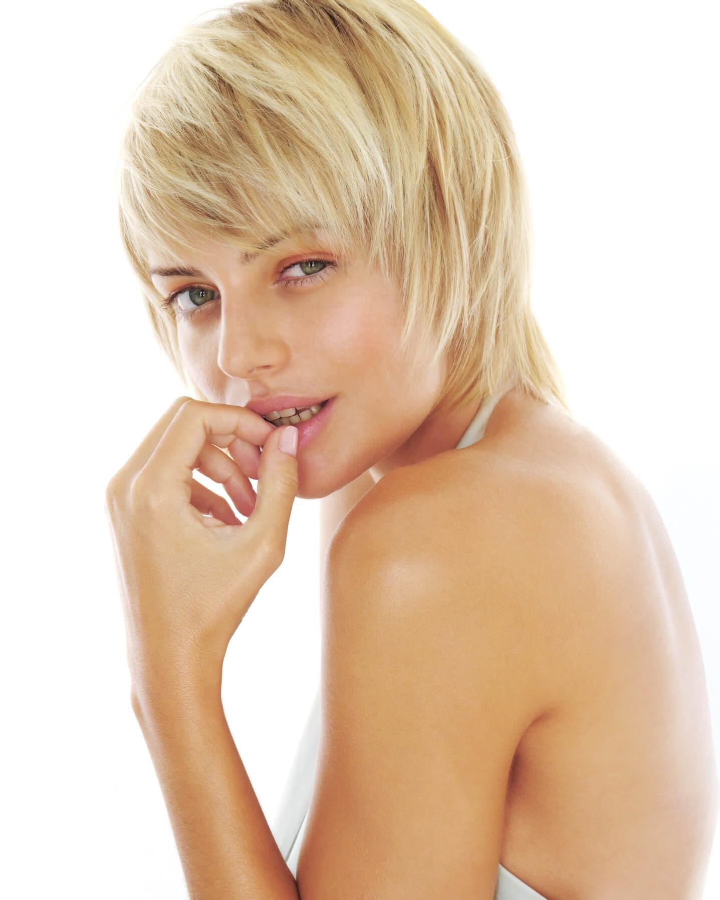 Секс со стриженной блондинкой — photo 7